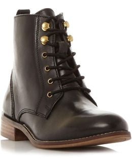 Quincey Lace Up Ankle Boots