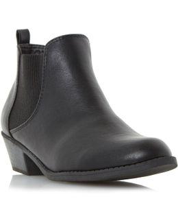 Piro Chelsea Elastic Ankle Boots