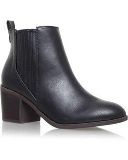 Taurus High Heel Ankle Boots