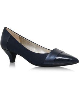 Mckinley Low Heel Court Shoes