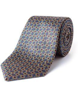 Edel Ellipse Geometric Silk Tie
