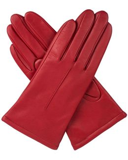 Womens Classic Leather Gloves