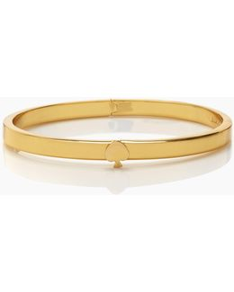 Spade Bangles Thin Hinge Bangle