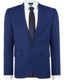 Hylan Slim Fit Pindot Suit Jacket