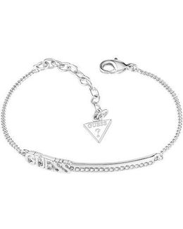 Linear Logo Bar Bracelet