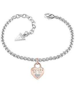 All About Shine 1981 Padlock Bracelet