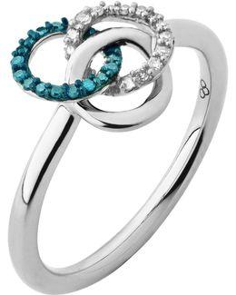 Treasured Silver & Diamond Ring
