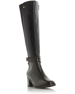 Vivv Stretch Back Knee High Boots