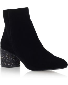 Serbia High Heel Ankle Boots