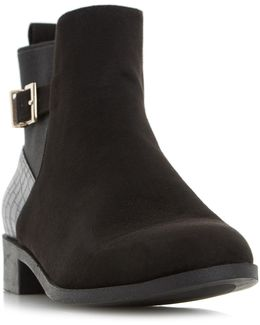 Penelope Suede Ankle Boots