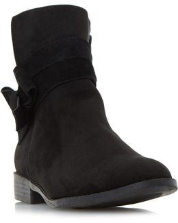 Pariah Wrap Strap Ankle Boots