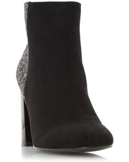 Odessa Faux-Suede Ankle Boots