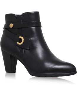 Chelsey High Heel Ankle Boots