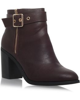 Janelle High Heel Ankle Boots