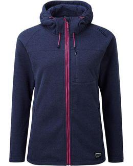 Aura Womens Tcz 300 Fleece Hooded Jacket