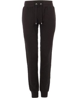 Sculpture Quilted Cuffed Tracksuit Bottoms