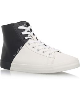 Walta Flat Lace Up Sneakers