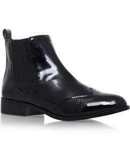 Sneek Flat Ankle Boots
