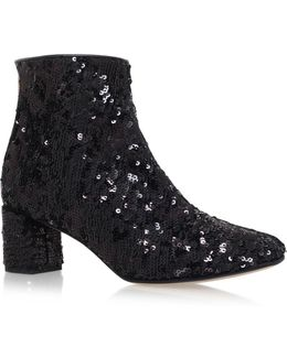 Tal High Heel Ankle Boots