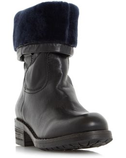 Roderik Shearling Lined Calf Boots