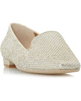 Growe Embroidered Loafer Shoes