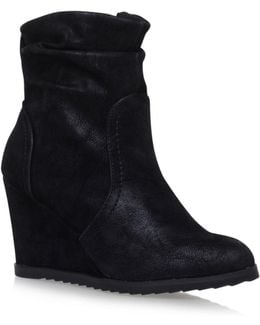 Sion Zip Up Ankle Boots