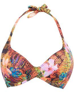 Safari Beach Underwired Halter Bikini Top