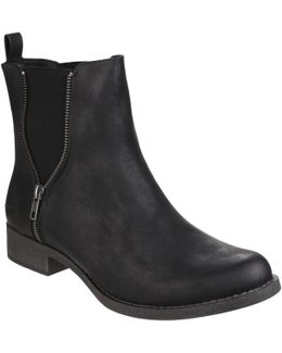 Camilla Gusset Ankle Boots
