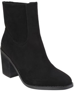 Dannis Zip Up Ankle Boots