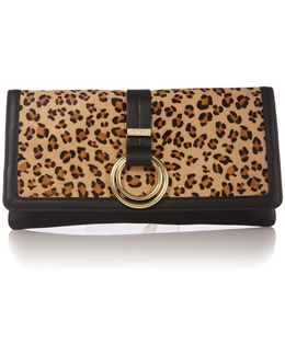 Ring Detail Clutch Bag