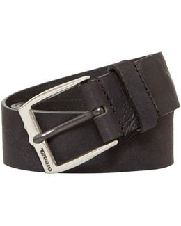 B-whys Logo Buckle Belt