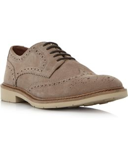 Metro 2b White Sole Brogue Shoes
