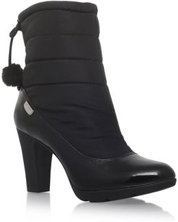 Xhale2 High Heel Ankle Boots