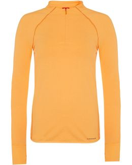 Pamela Long Sleeve Half Zip Top
