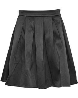 Juliet Satin Flared Skirt