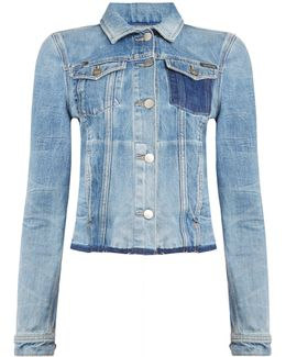 Riot Denim Trucker Jacket In Time Machine