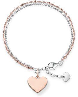 Love Bridge Engravable Heart Bracelet