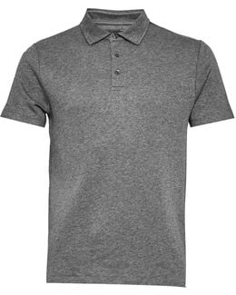 Central Crepe Polo Shirt