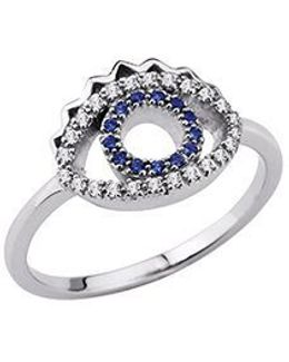 24134110205 Sterling Silver & Cz Ring
