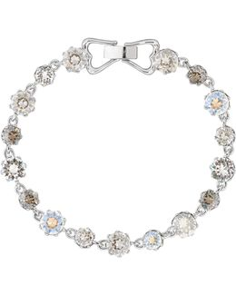 Chaley Crystal Crown Bracelet
