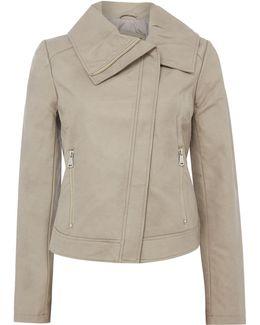 Winged Collar Jacket