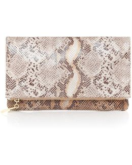 Foldover Zip Pouch