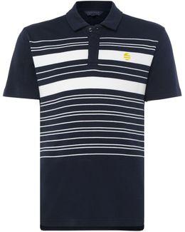 Placed Stripe Short-sleeve Polo-shirt