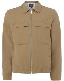 Zip-through Blouson Jacket