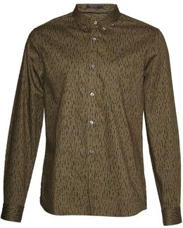 Rain Dash Oxford Slim Fit Shirt