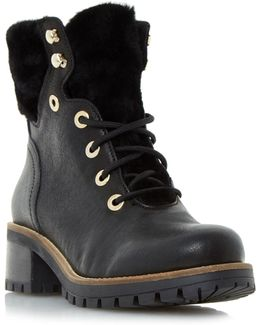 Rochelle Shearling Cleated Boots