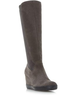 Vera. Stretch High Leg Boots
