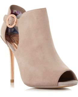 Sandrouse Open Toe Ankle Boots