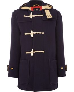 Union Jack Monty Duffle Coat