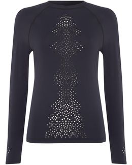 Spice Temple Long Sleeve Sunvest Sports Top